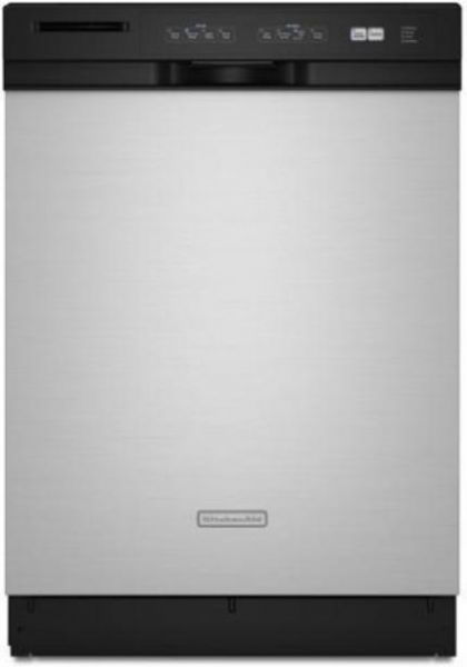 Kitchenaid Dishwasher Stainless Steel front control dishwasher in stainless steel. . . kenmore