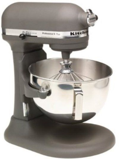 KitchenAid KV25GOXGR Professional 5 Plus Series-Bowl-Lift Stand Mixer-Flour Power in Imperial ...