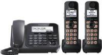Panasonic KXTGC210S DECT 6.0 1-Handset 1-Line Landline Telephone
