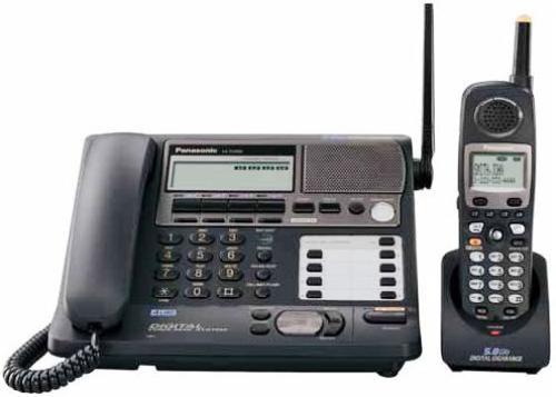 Panasonic Kx Tg4500b Phone System Fhss Expandable Four