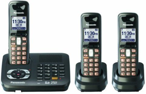 Panasonic Kx Tg6445t Cordless Phone 1 9 Ghz Frequency