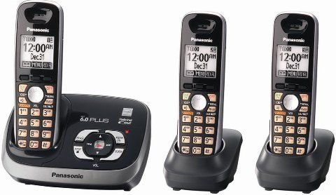 Features. Extra Panasonic Silver handset for KX-TGSK Costco Cordless Phone System; Remote Voice Assist, Dedicated Call Block button to block up to 1, unwanted caller numbers, Talking Caller ID in English and Spanish.