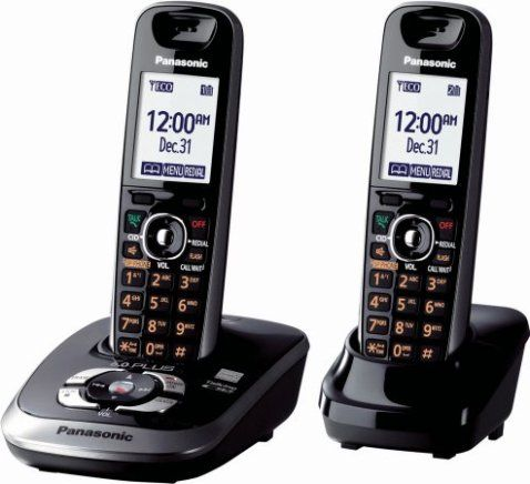 Panasonic Kx Tg7532b Cordless Phone 1 9ghz Frequency 6