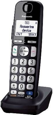 Panasonic KX-TGEA20B DECT 6.0 Additional Digital Cordless Handset For use with KX-TGE21, KX-TGE23, KX-TGE24, KX-TGE26, & KX-TGE27 Series Cordles Telephones; UPC 885170185173 (KXTGEA20B KX TGEA20B KXTGEA-20B)