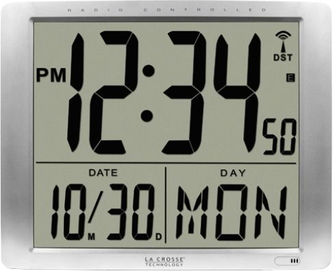 Digital Clock Date and Time