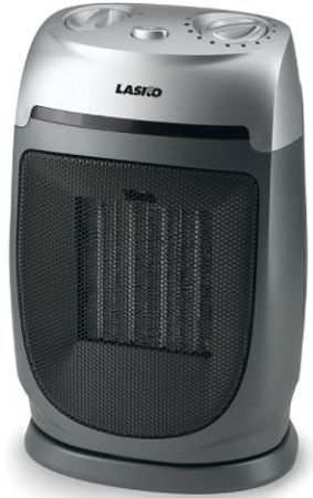 Bon Lasko 5424 Oscillating Ceramic Heater With Adjustable Thermostat,  Widespread Oscillation For Broad Area Coverage, Adjustable Thermostat For  Personalized ...