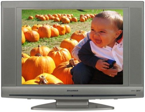 Sylvania LC200SL8 TFT 20 VGA LCD Television Resolution 640 X 480 Response Speed 16 Ms Contrast Ratio 5001 Brightness 300 Cd M2 Horizontal Viewing