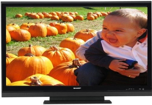 how to change resolution on sharp tv