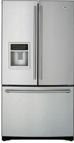 Lg Lfd21860st Cabinet Depth French Door Refrigerator With External