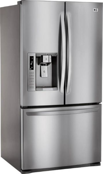 Lg Lfx28977st French Door Refrigerator With Adjustable Glass Shelves
