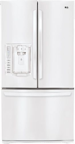 Lg Lfx28977sw Three Door French Door Refrigerator With Ice And Water