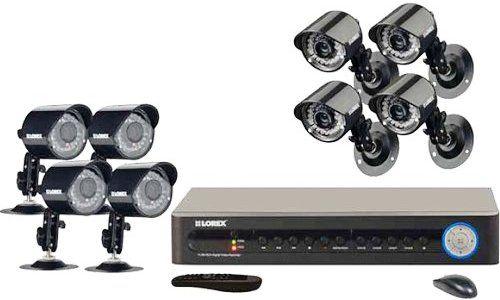 Lorex LH118501C8B Video Surveillance System, 8-Channel 500GB