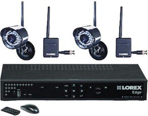 Lorex LH324501C2W Edge+ 4-Channel 500GB HDD DVR with 2