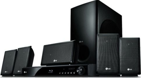 Lg Lhb326 Home Theater System With Iphone Ipod Cradle