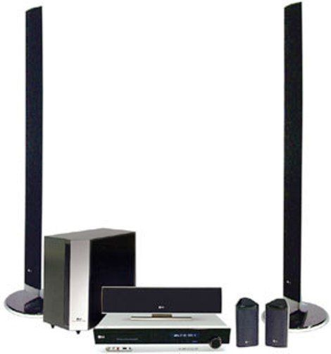LG LH-E9674 1000-Watt 5-Disc DVD Player XM Satellite Radio