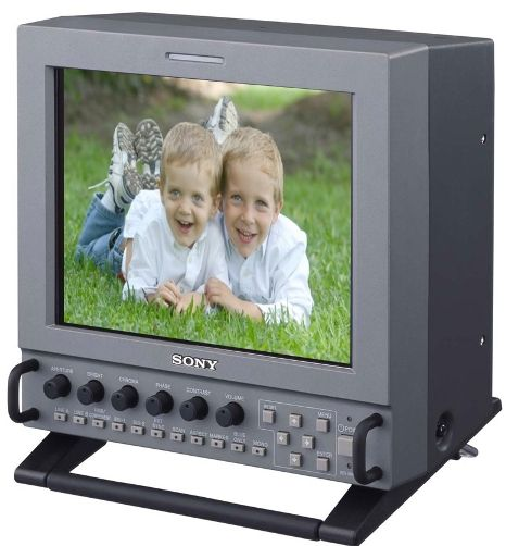 Sony LMD-9030 VGA Multi-Format LCD Professional Video Monitor 9-Inch with SDI, 640x480 (VGA) Panel Resolution, 4:3/16:9 Aspect Ration Selection, Scan Mode (0%, 5%) (LMD9030 LMD 9030 LM-D9030 LMD-903 LMD-90 LMD90)