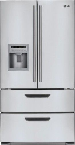 view french cu products lg door ft refrigerator