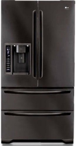 Lg Lmx25985sb Four Door French Door Refrigerator With Ice And Water