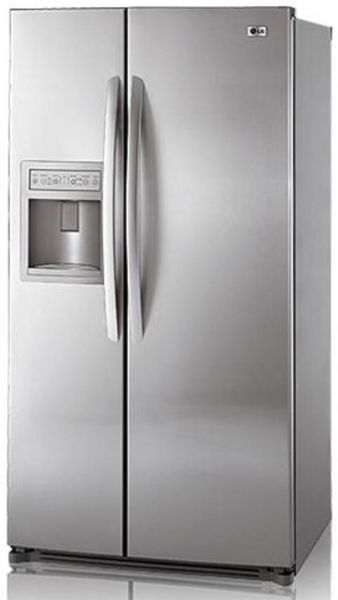 Lg Lsc27910st Side By Side Refrigerator 26 5 Cu Ft