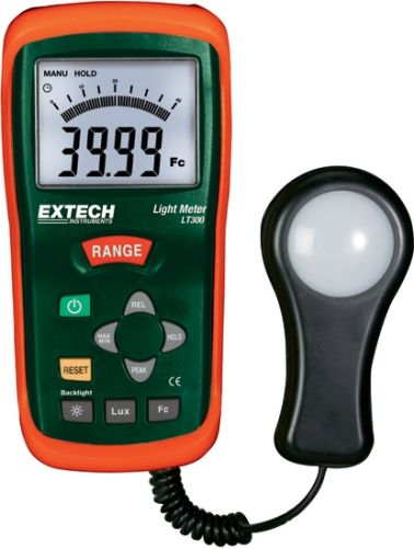 Superior Extech LT300 Light Meter, Measures Light Intensity Up To 20000 Foot Candles  Or Lux, With High Resolution To 0.01 Fc/Lux, Relative Mode Indicates Change  In ... Amazing Ideas