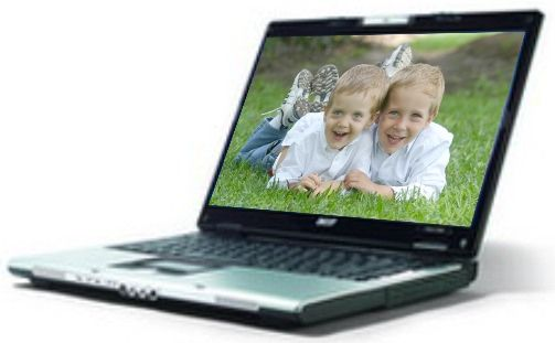 Acer LX.AFQ06.001 Aspire 5680-6516 Notebook, Intel Core Duo Processor T5500 (2MB L2 cache, 1.66GHz, 667MHz FSB), Alternative to LX.AA706.003 5672WLMi (LXAFQ06001 AS5680-6516 AS56806516 AS5680)