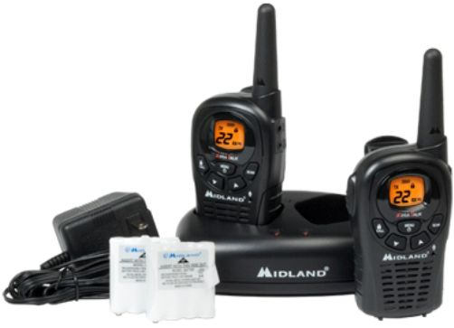 Midland LXT360VP3 Model LXT360 X-Tra Talk Two-Way Radios with 22 Channels, Silent Operation and Call Alert, Up to 22 Mile Range, Dual Power Options, Channel Scan, HI/LO Power Settings, Auto Squelch, Keypad Lock, Frequency band 462.550 ~ 467.7125 MHz, Water Resistant, Roger Beep, UPC Code 046014503618 (LX-T360VP3 LX T360VP3 LXT360-VP3 LXT360 VP3)