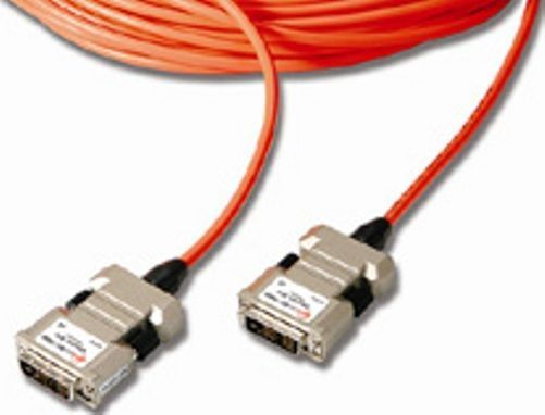 Opticis M1-1000-70 All-Optical Cable for Electrical Isolation - 70m, Auto-power switching, Supports bit rate up to 1.65Gbps per channel, Complies with DDC/HDCP over 3 fibers, Supports WUXGA 1920x1200, 60Hz and 1080p, Extends DVI signal up to 500m - 1640feet over 4 multi-mode fibers, Compact design of end connector allows direct connection to the host video card and display (M1-1000-70 M1 1000 70 M1100070 M1-1000 M1 1000 M11000)