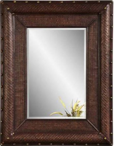 Bassett mirror m3460bec pan pacific singapore wall mirror for Types of mirror frames
