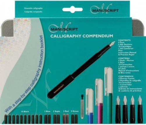 Manuscript Mc150 Calligraphy Compendium Set Contains 4