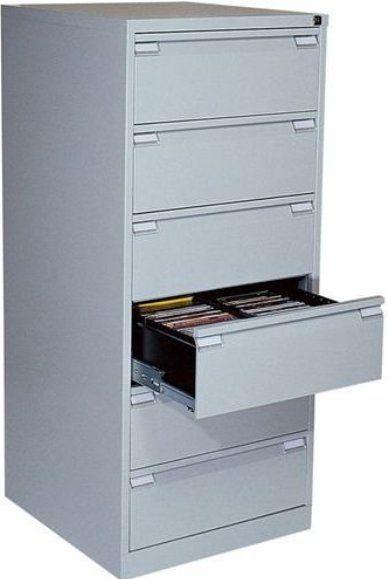 "Axcess MD296 Under Desk Organizer Six drawer 3 5"" each"