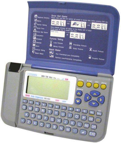 ir data communication telephone directory snow ball game fortune telling partner talkingmessaging memo world clock match maker calculator