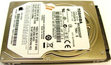 Toshiba MK2555GSXF Notebook 2.5-inch Hard Disk Drive, 250GB capacity, Rotational Speed of 5400rpm, Serial ATA 2.6 / ATA8 Interface, 3.0Gb/s Interface speed, 8MB Buffer, 600000 MTTF Hours, Track-to-track Seek 2ms, Average Seek Time 5.55ms (MK-2555GSXF MK 2555GSXF MK2555-GSXF MK2555 GSXF)