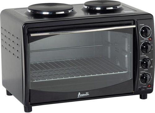 Countertop Convection Oven With Burners On Top : Counter-Top Unit, Dual Burner Cook-Top, Convection Bake, Convection ...