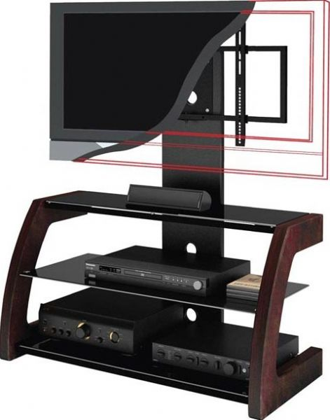 Images Ml 1459 Flat Panel Tv Stand Accommodates 32 52 Tv Solid
