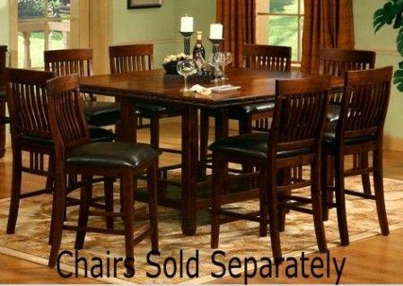 Mira Home Furnishings MONTEREY COUNTER HEIGHT TABLE Monterey Counter Height D