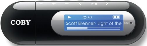 coby mp3 player how to add music