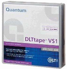 Quantum MR-V1MQN-01 DLT VS1 Tape Cartridge, 80-160GB, works with VS160 Drive, DLTtape VS1 Media will be read compatible with the SDLT 600 drive, Tape Technology DLT; Durability 1000000 Head Passes; Humidity: 20 to 80% Operating, 20 to 80% Storage (MRV1MQN01 MRV1MQN-01 MR-V1MQN01 MR-V1MQN)
