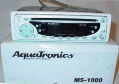 MS1000 R aquatronics ms 1000 remanufactured am fm marine stereo with cd  at soozxer.org