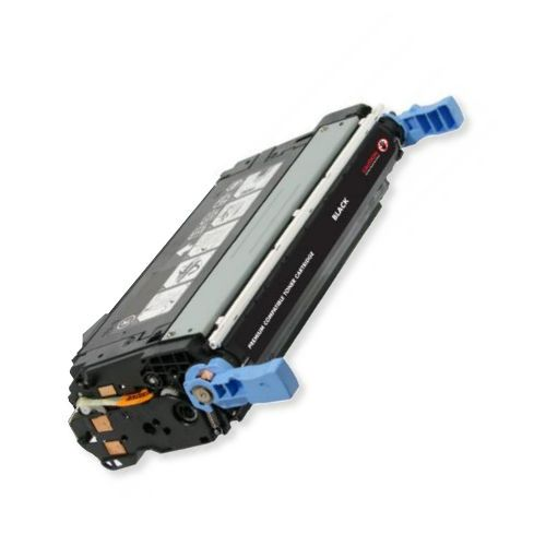 MSE Model MSE022140014 Remanufactured Black Toner Cartridge To Replace HP CB400A, HP642A; Yields 7500 Prints at 5 Percent Coverage; UPC 683014054353 (MSE MSE022140014 MSE 022140014 MSE-022140014 CB 400A HP 642A CB-400A HP-642A)