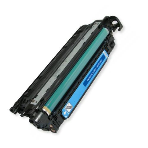 MSE Model MSE0221450114 Remanufactured Cyan Toner Cartridge To Replace HP CE261A, HP648A; Yields 11000 Prints at 5 Percent Coverage; UPC 683014203645 (MSE MSE0221450114 MSE 0221450114 MSE-0221450114 CE 261A CE-261A HP 648A HP-648A)