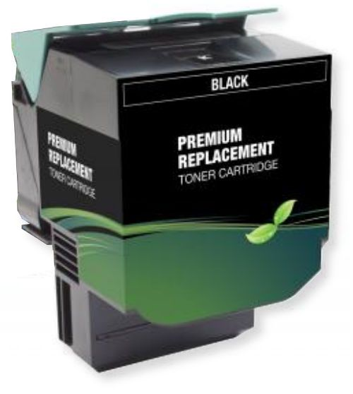 MSE Model MSE0224510162 Remanufactured Extra High-Yield Black Toner Cartridge To Replace Lexmark 70C0X10, 70C1XK0; Yields 8000 Prints at 5 Percent Coverage; UPC 683014205052 (MSE MSE0224510162 MSE 0224510162 MSE-0224510162 70C 0X10 70C 1XK0 70C-0X10 70C-1XK0)