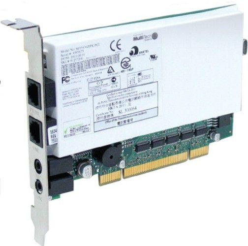MultiTech System MT5634ZPX PCI U NV Multimodem ZPX V92 Data