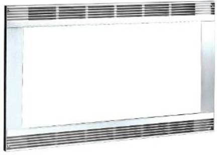 Frigidaire Mwtrmkt30s White 30 Inch Microwave Trim Kit Color Built In For