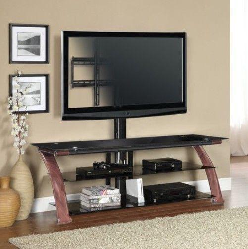 Innovex Nex65 Wc Am100g29 Nexus Ez 65 Tv Stand With Mount Walnut
