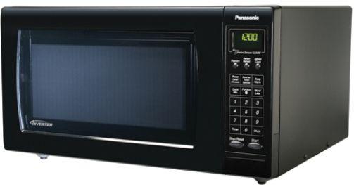 Black Inverter 1350 Watt Microwave Oven