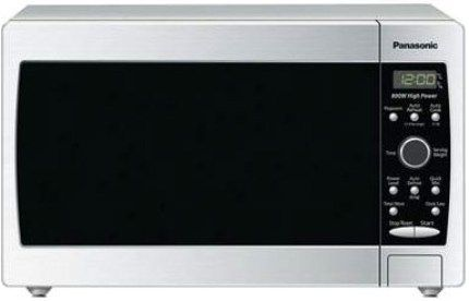 Panasonic Nn Sd377s Compact Size Microwave Oven Counter Top Type 0 7ft³ Capacity Cooking Methods 5 Stages 800w