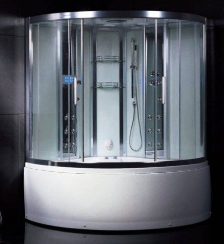 Wasauna NOVARA Steam Shower & Tub Combination Unit, 2 Persons Capacity ...