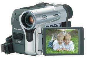 Panasonic nv gs50 multi-system mini dv digital pal camcorder, 10 x.