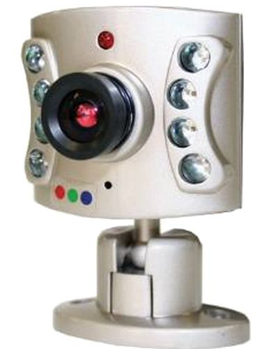Clover OC960 Mini Color 20' Range with 8ea Super Led and Audio Night Vision Camera; TV System: NTSC; Image Sensor: 1/4