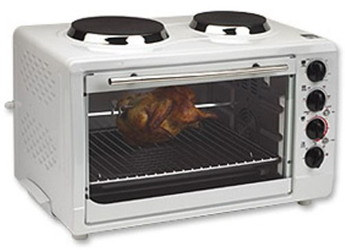 Countertop Convection Oven With Burners On Top : Convection Toaster Oven with Rotisserie